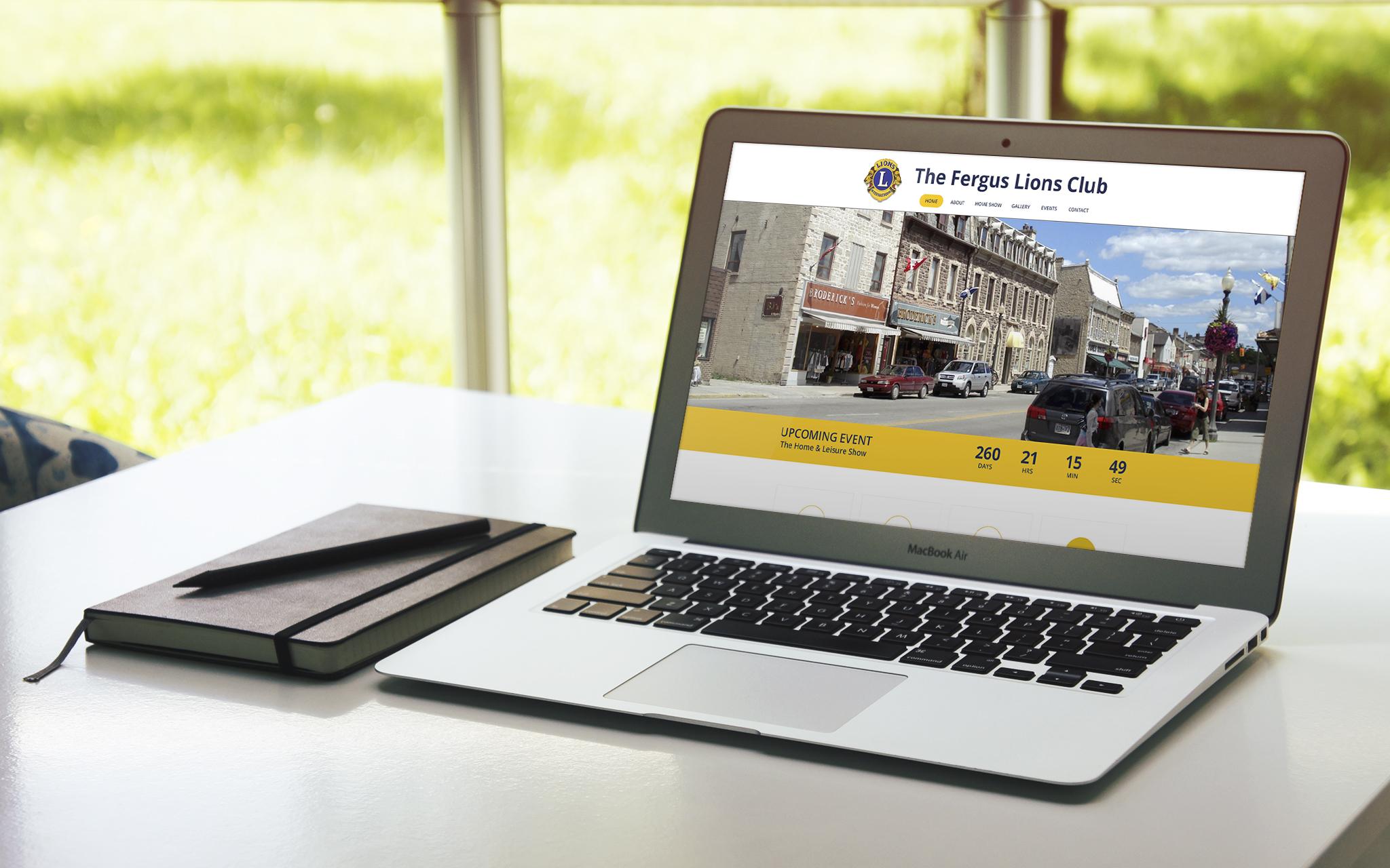 Shane Cloutier Web & Design   Community Website Mockup